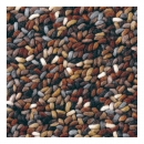 tapis stone marron - brink & campman