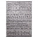 tapis gris contemporary kelim esprit home