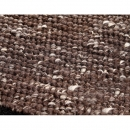 Tapis laine tissé main marron Spencer Home Spirit