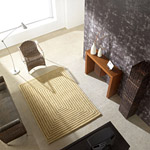 Tapis TRIDIMENSIONAL Beige - Carving