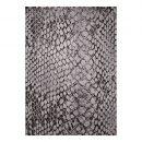 tapis wecon moderne snake gris