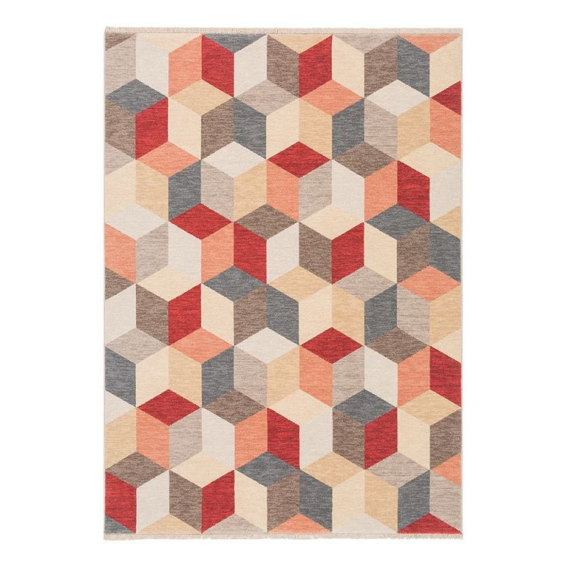 Tapis moderne laine multicolore colors ligne pure 140 x 195 - Tapis laine multicolore ...