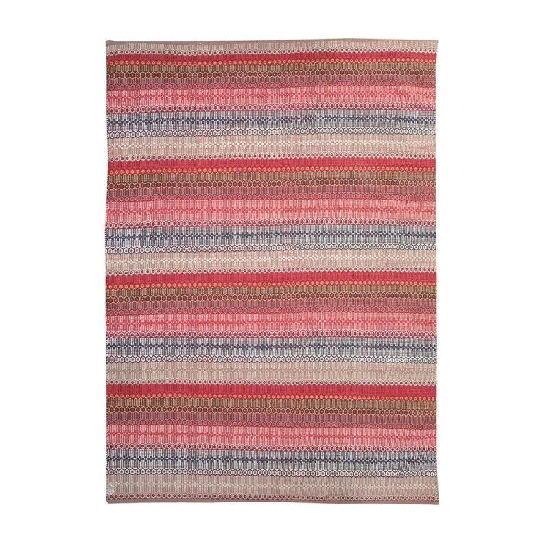 tapis fait main york rouge the rug republic 160x230. Black Bedroom Furniture Sets. Home Design Ideas