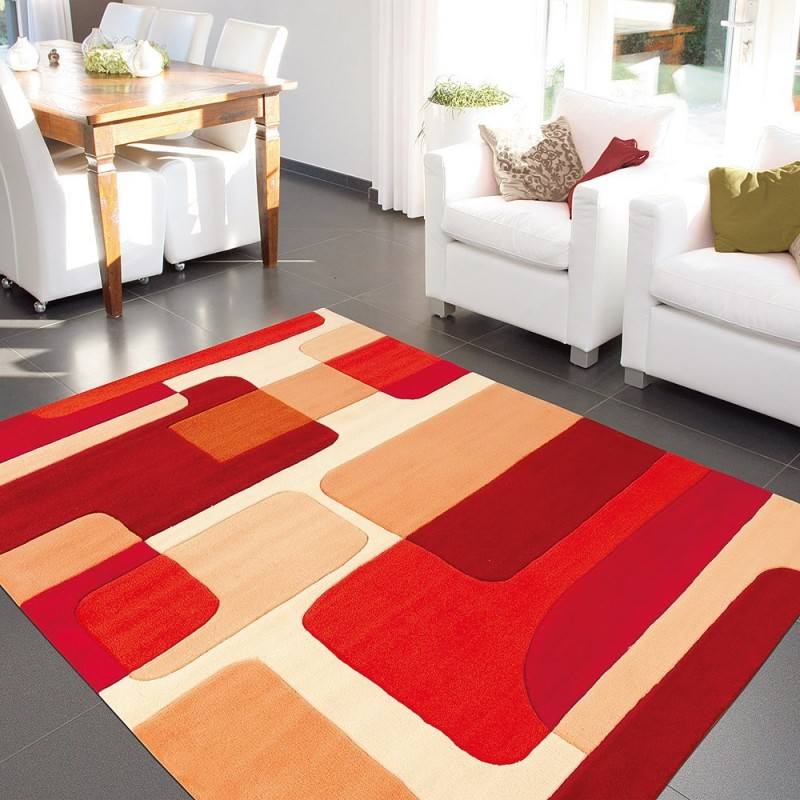Tapis arte espina soldes elegant tapis pop art rouge de for Tapis salon xxl