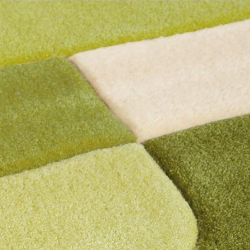 tapis pop art vert de arte espina 70x140. Black Bedroom Furniture Sets. Home Design Ideas