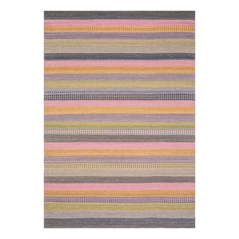 tapis moderne ligne pure laine multicolore flatweave 140 x 200. Black Bedroom Furniture Sets. Home Design Ideas