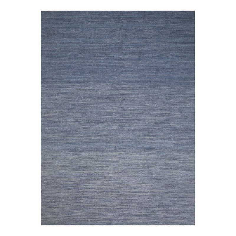 tapis moderne bleu laine flatweave ligne pure 170 x 240. Black Bedroom Furniture Sets. Home Design Ideas