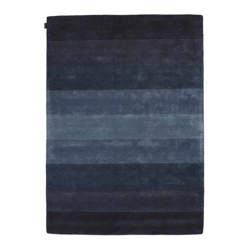tapis moderne bleu angelo caesar 200x300. Black Bedroom Furniture Sets. Home Design Ideas