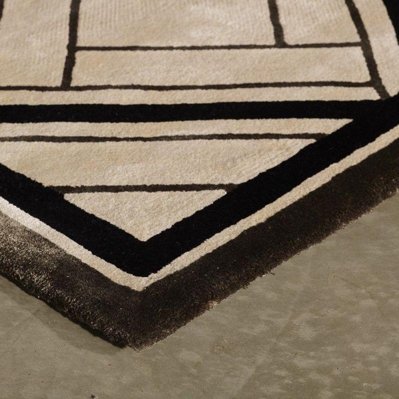 tapis moderne spectre angelo gris 170x240. Black Bedroom Furniture Sets. Home Design Ideas