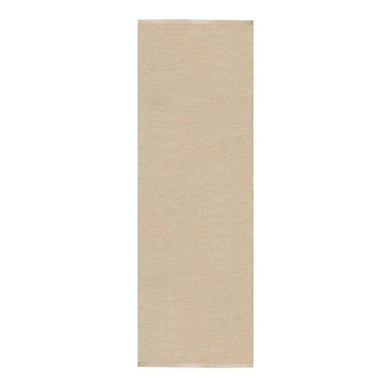 tapis de couloir beige et blanc sofie sj str m flip 70x200. Black Bedroom Furniture Sets. Home Design Ideas