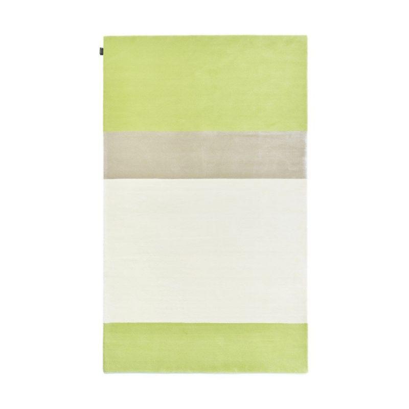 tapis moderne jean fran ois d 39 or angelo gris et vert 200x300. Black Bedroom Furniture Sets. Home Design Ideas