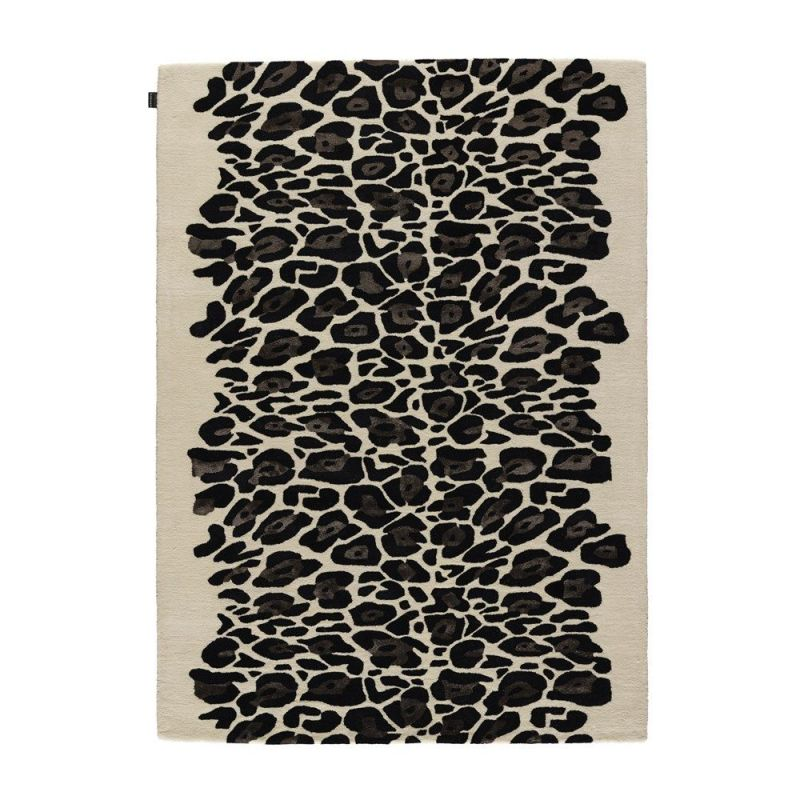 tapis moderne beige leopard angelo 200x300. Black Bedroom Furniture Sets. Home Design Ideas