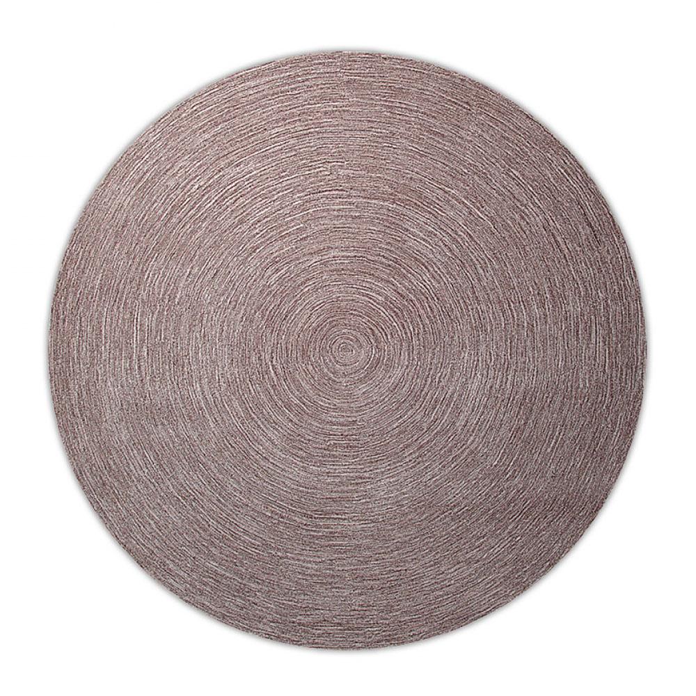 tapis moderne rond colour in motion taupe esprit home 250x250. Black Bedroom Furniture Sets. Home Design Ideas