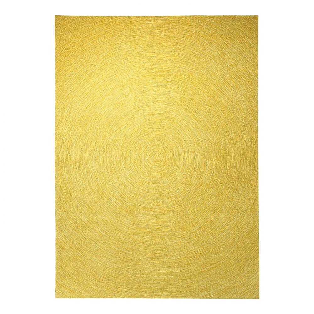 tapis moderne carr esprit home colour in motion jaune 200x200. Black Bedroom Furniture Sets. Home Design Ideas
