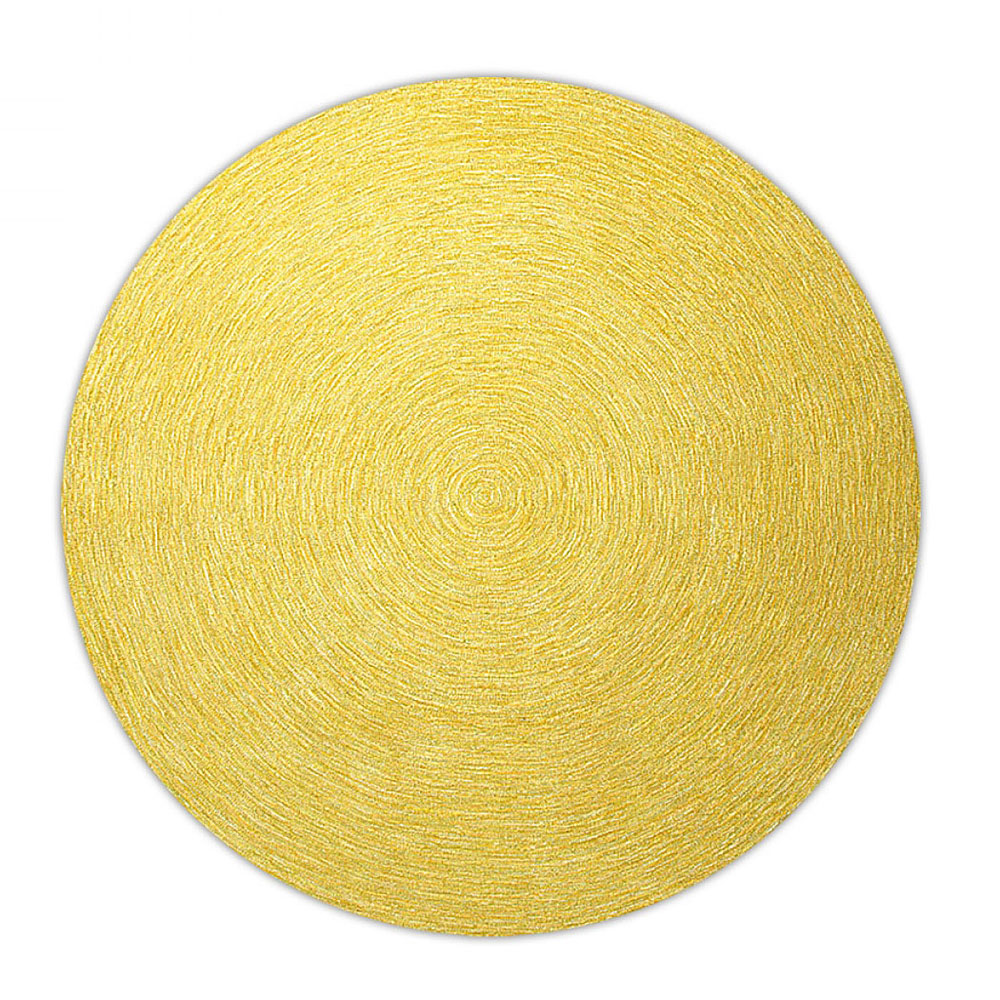 tapis moderne rond colour in motion esprit home jaune 250x250. Black Bedroom Furniture Sets. Home Design Ideas