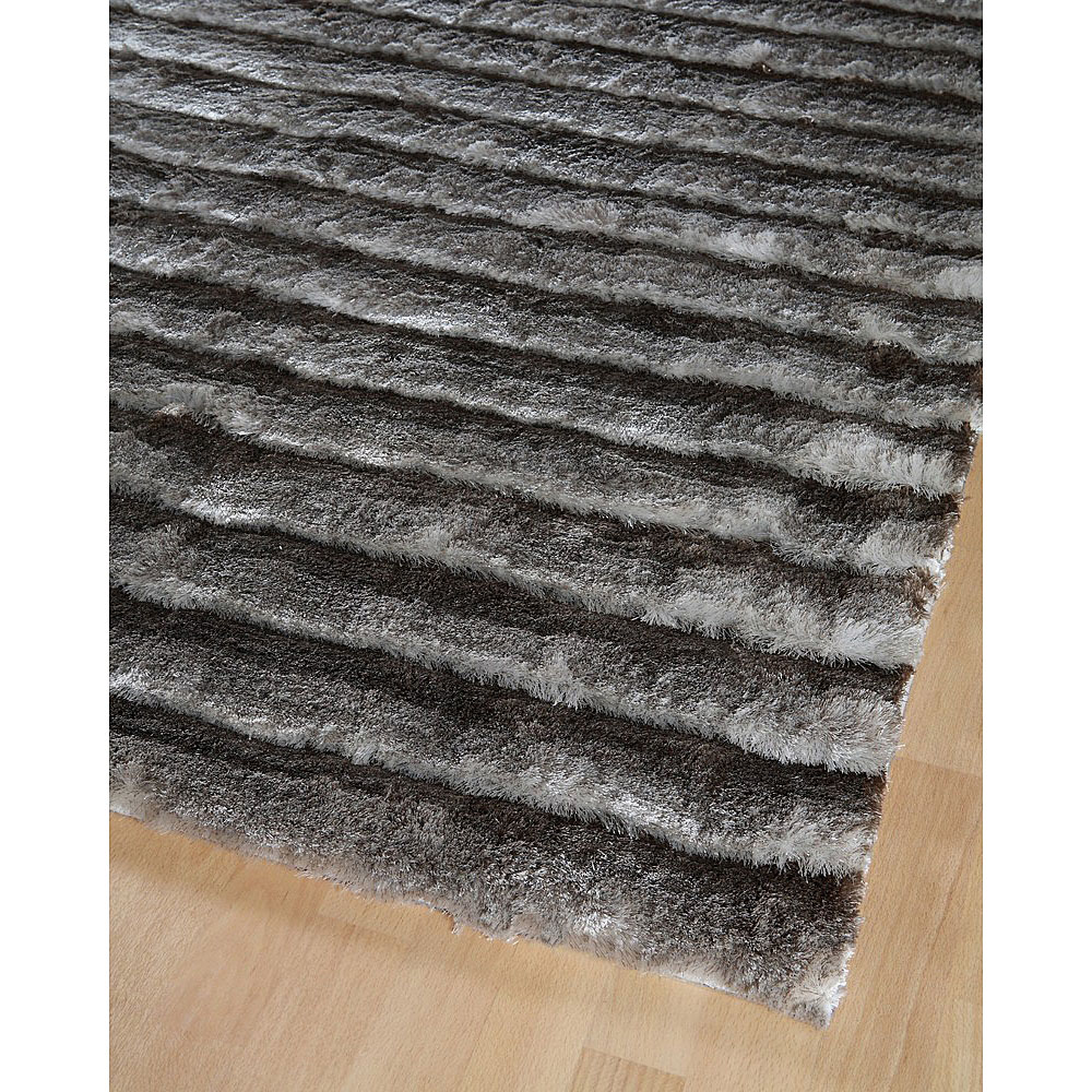 tapis home spirit shaggy taupe dune 170x230. Black Bedroom Furniture Sets. Home Design Ideas