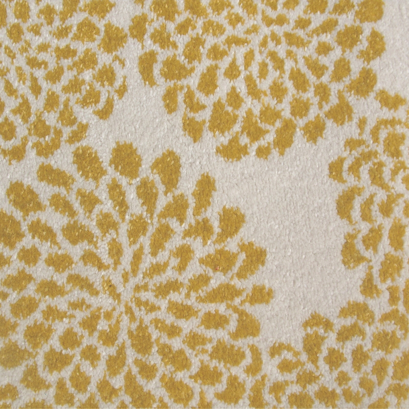 tapis blooming flowers jaune edito paris 135x190. Black Bedroom Furniture Sets. Home Design Ideas