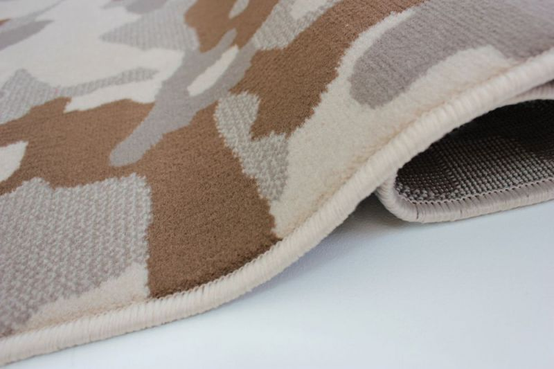 tapis moderne beige camo flair rugs 120x160. Black Bedroom Furniture Sets. Home Design Ideas