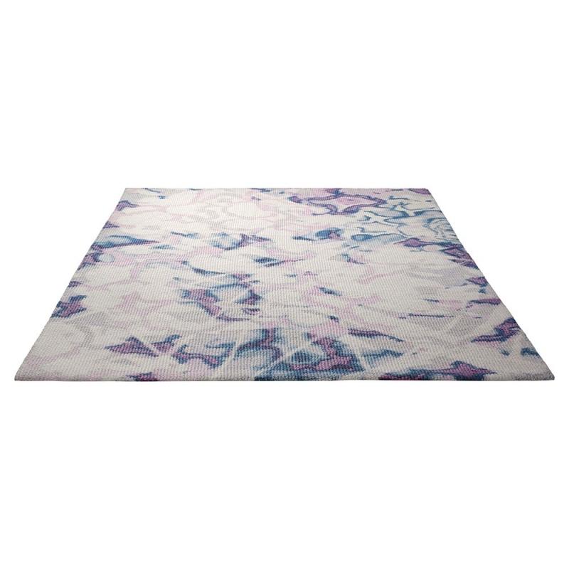 ... Tapis Moderne Crystal Flower Violet Esprit Home