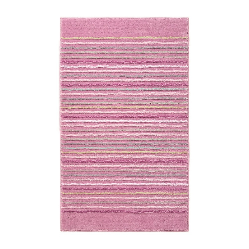 Tapis De Bain Rose Cool Stripes Esprit Home 55x65