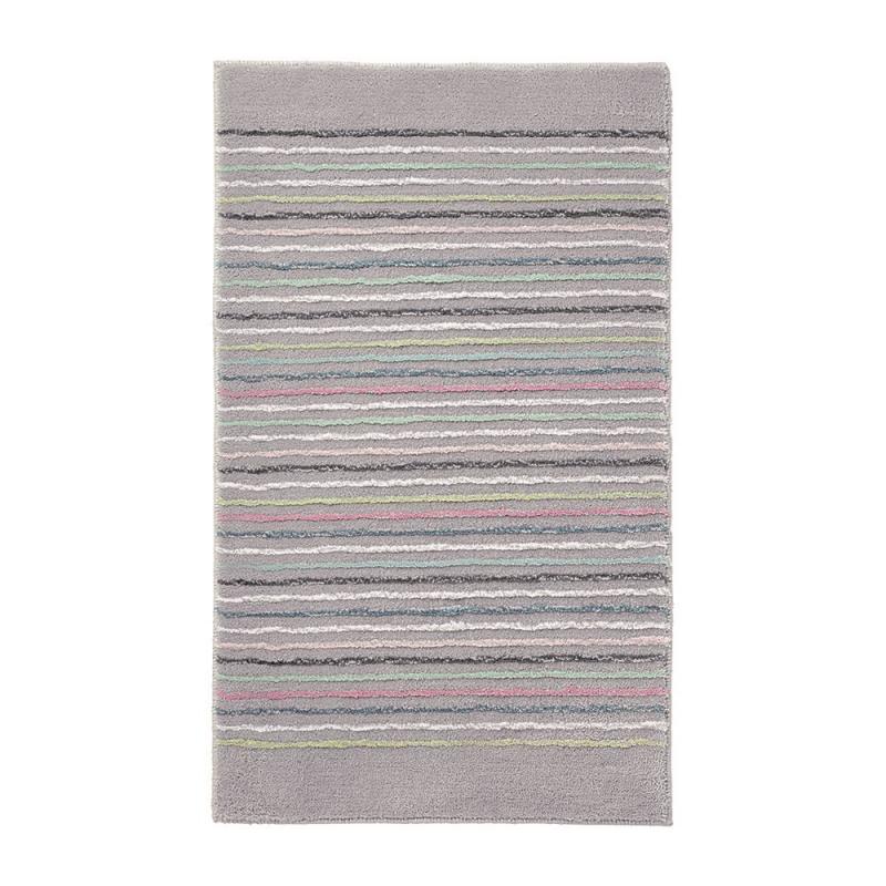 tapis de bain gris esprit home cool stripes 60x100. Black Bedroom Furniture Sets. Home Design Ideas