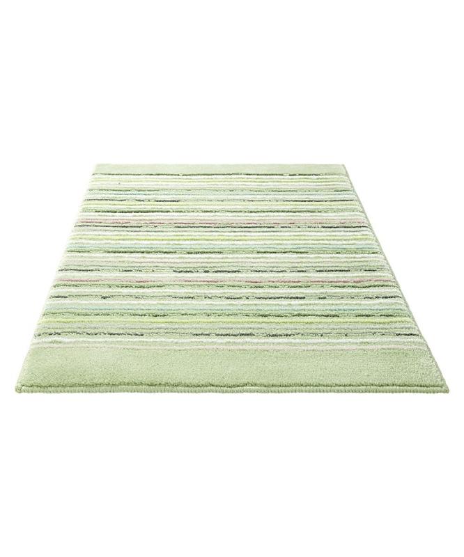 tapis de bain cool stripes esprit home vert 70x120. Black Bedroom Furniture Sets. Home Design Ideas