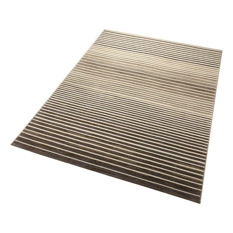 tapis beige nifty stripes moderne 160x225. Black Bedroom Furniture Sets. Home Design Ideas