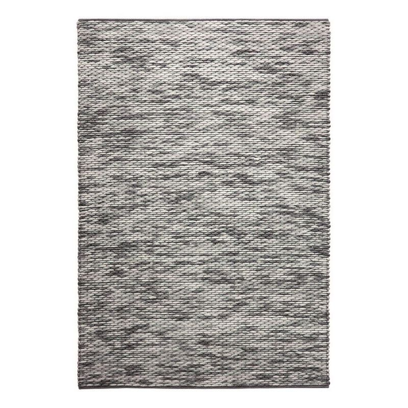 tapis reflection gris moderne 160x230. Black Bedroom Furniture Sets. Home Design Ideas