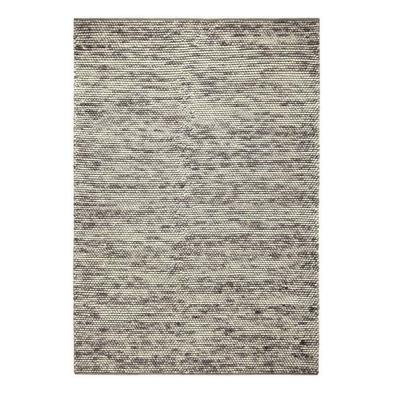 tapis moderne knob gris 60x110. Black Bedroom Furniture Sets. Home Design Ideas