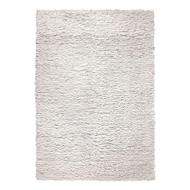 tapis esprit home fluffy moderne blanc 130x190. Black Bedroom Furniture Sets. Home Design Ideas