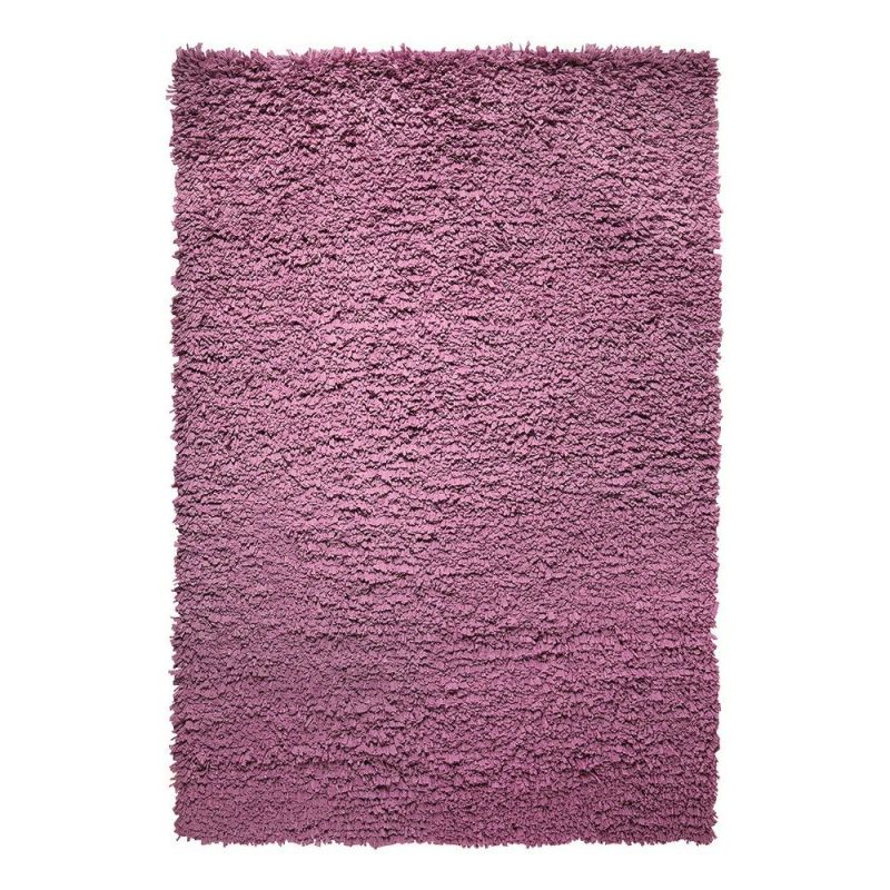 tapis fluffy violet moderne esprit home 80x150. Black Bedroom Furniture Sets. Home Design Ideas