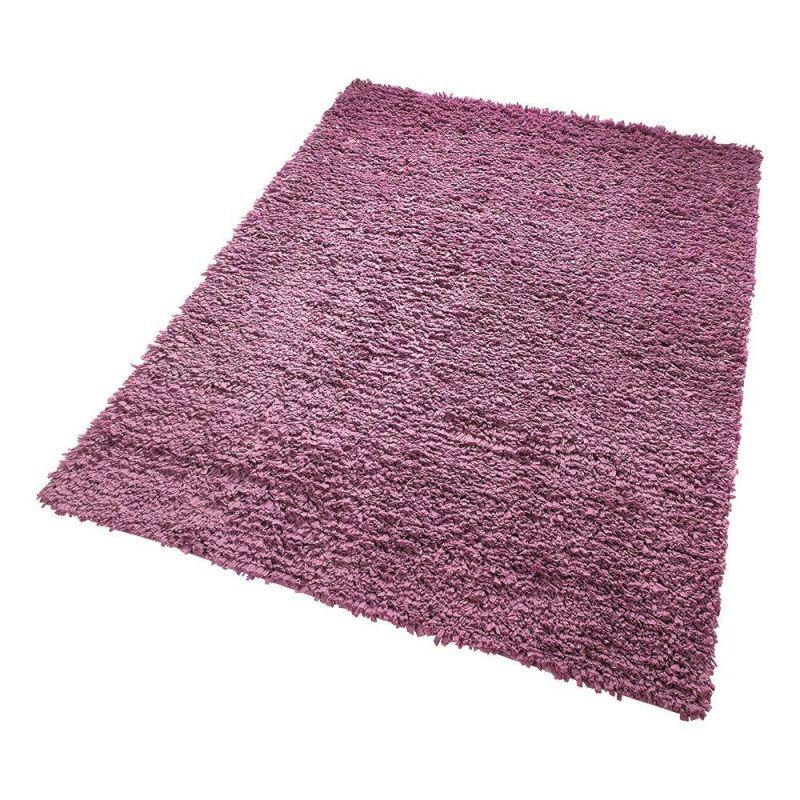 tapis fluffy violet moderne esprit home 80x150. Black Bedroom Furniture Sets. Home Design Ideas
