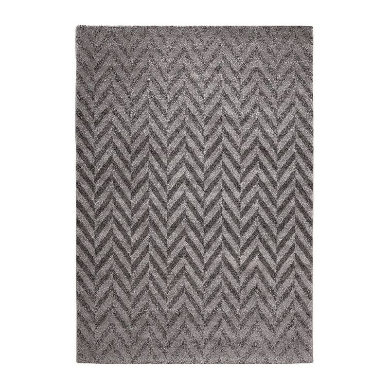 tapis gris esprit home highway 133x200. Black Bedroom Furniture Sets. Home Design Ideas