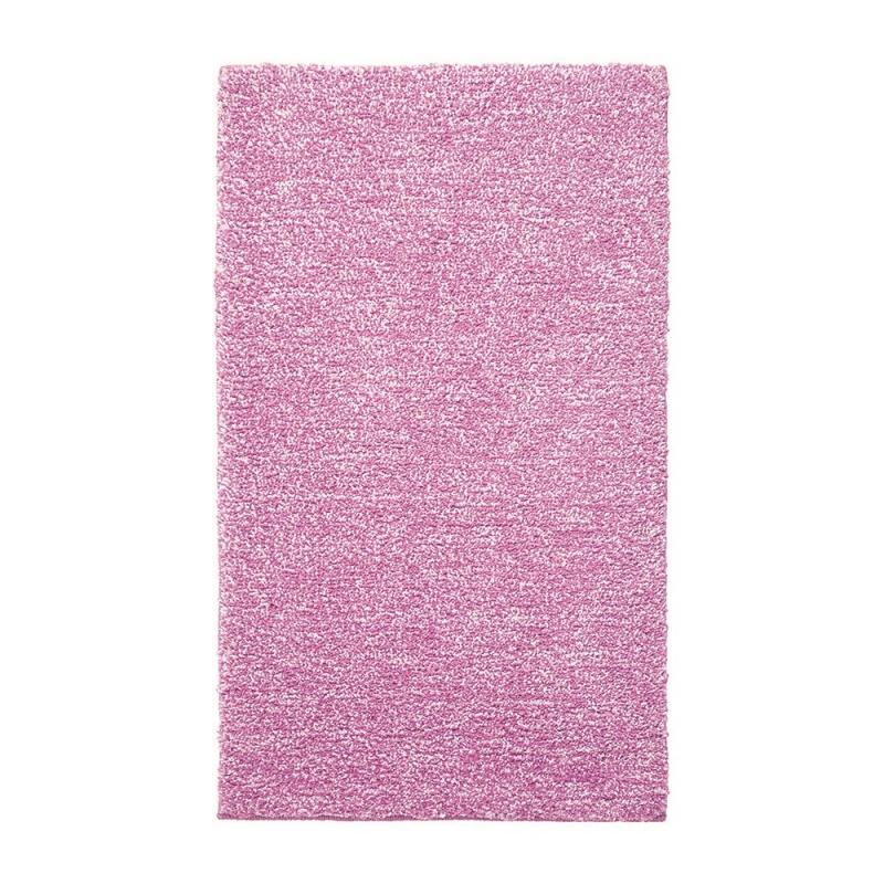 Tapis de bain rose harmony esprit home 55x65 - Tapis salle de bain rose ...