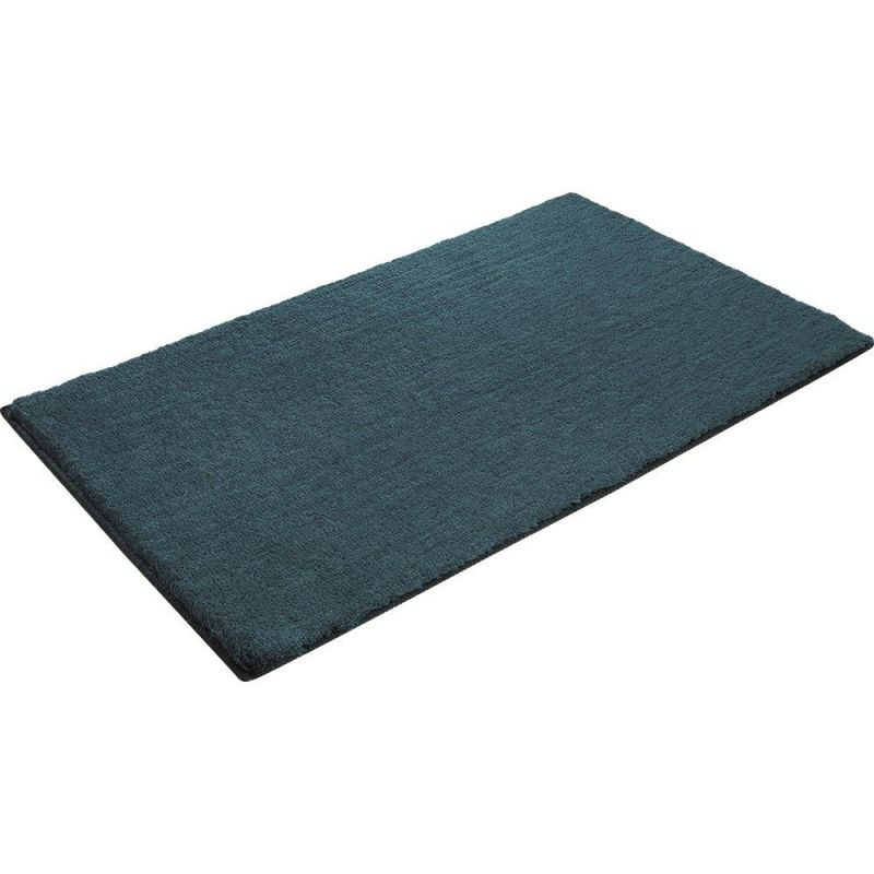tapis de bain esprit bleu softy 55x65. Black Bedroom Furniture Sets. Home Design Ideas