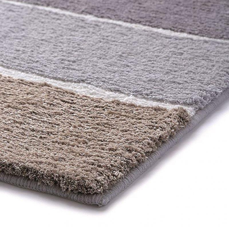 tapis de bain block stripe marron esprit 60x100. Black Bedroom Furniture Sets. Home Design Ideas