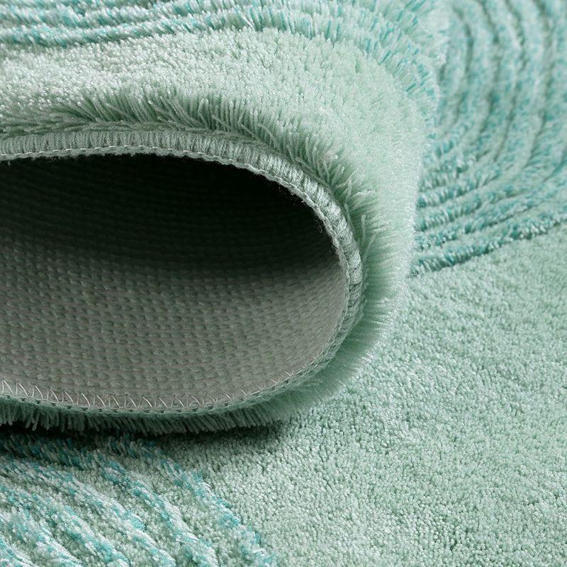 tapis de bain yoga vert clair esprit 55x65. Black Bedroom Furniture Sets. Home Design Ideas