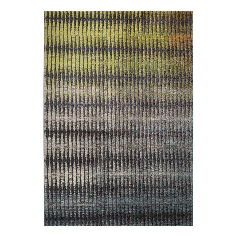 tapis esprit home moderne ocean view jaune 80x150. Black Bedroom Furniture Sets. Home Design Ideas
