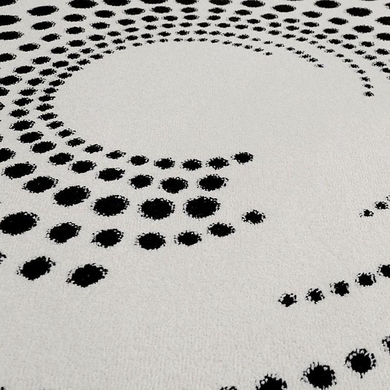 tapis rond moderne esprit eddy beige 250x250. Black Bedroom Furniture Sets. Home Design Ideas