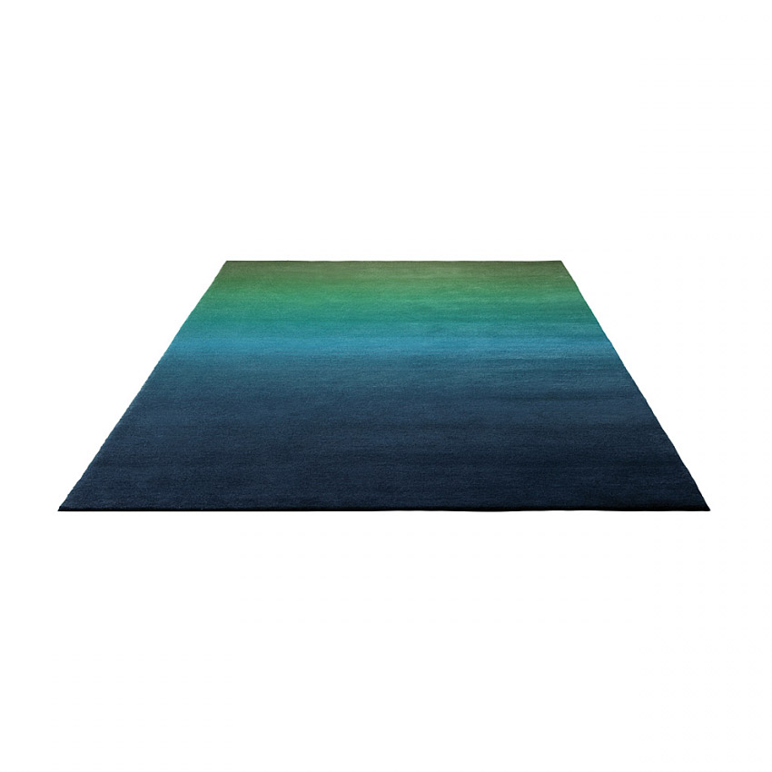 tapis summer fun moderne vert et bleu esprit home 90x160. Black Bedroom Furniture Sets. Home Design Ideas