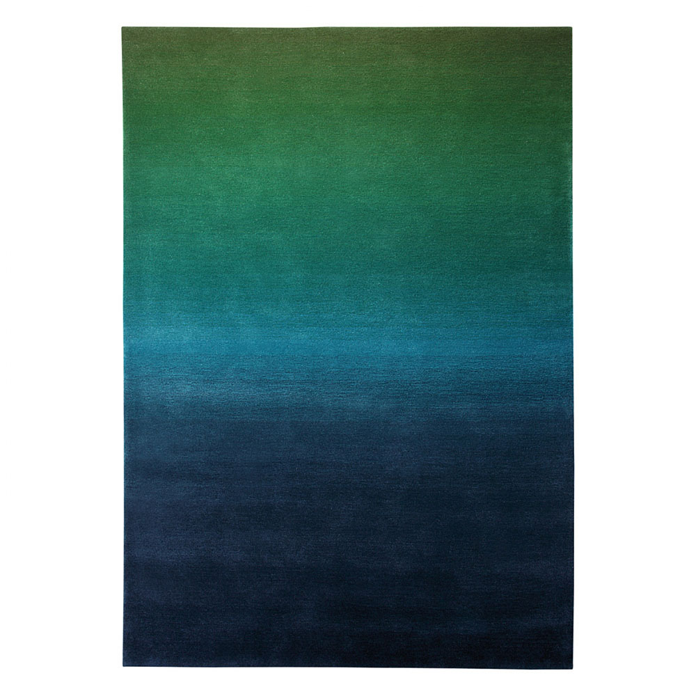 tapis summer fun vert et bleu esprit home moderne 140x200. Black Bedroom Furniture Sets. Home Design Ideas