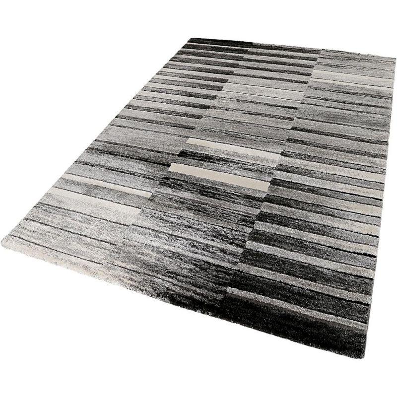 tapis moderne esprit wild stripes beige 160x225. Black Bedroom Furniture Sets. Home Design Ideas