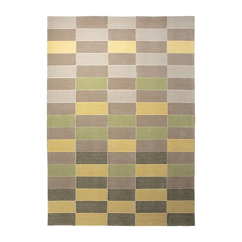 tapis esprit home vert fida tuft main 200x200. Black Bedroom Furniture Sets. Home Design Ideas