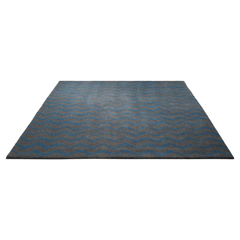 tapis kalahari bleu tuft main esprit home 170x240. Black Bedroom Furniture Sets. Home Design Ideas