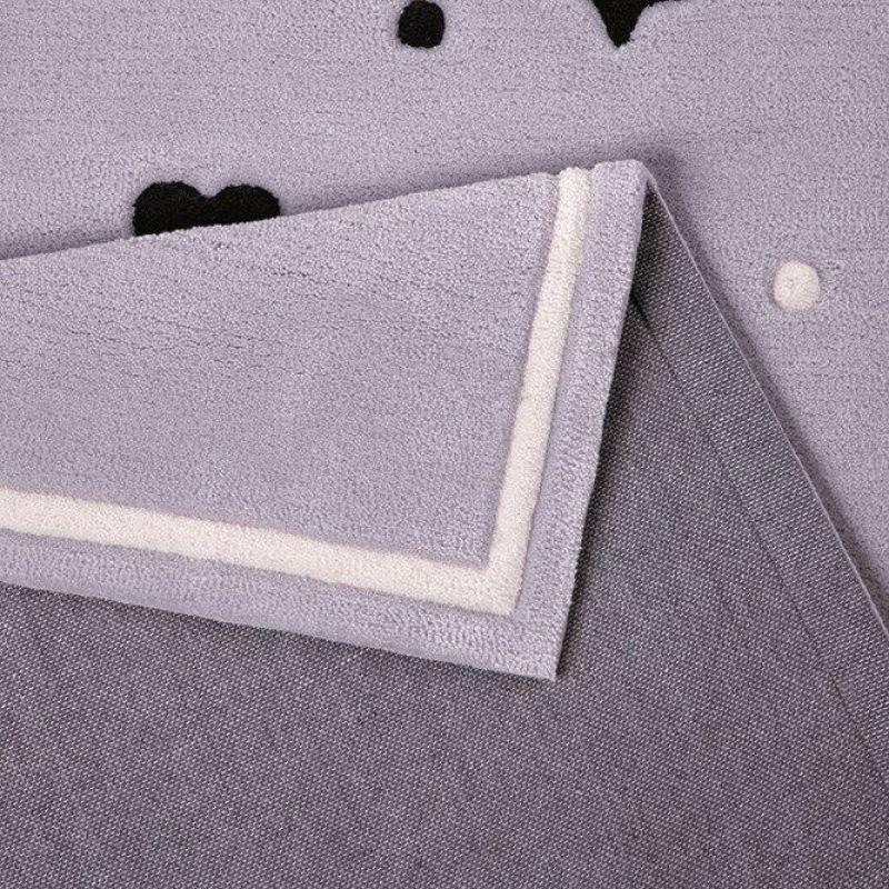 tapis enfant conny smart kids gris 110x170. Black Bedroom Furniture Sets. Home Design Ideas