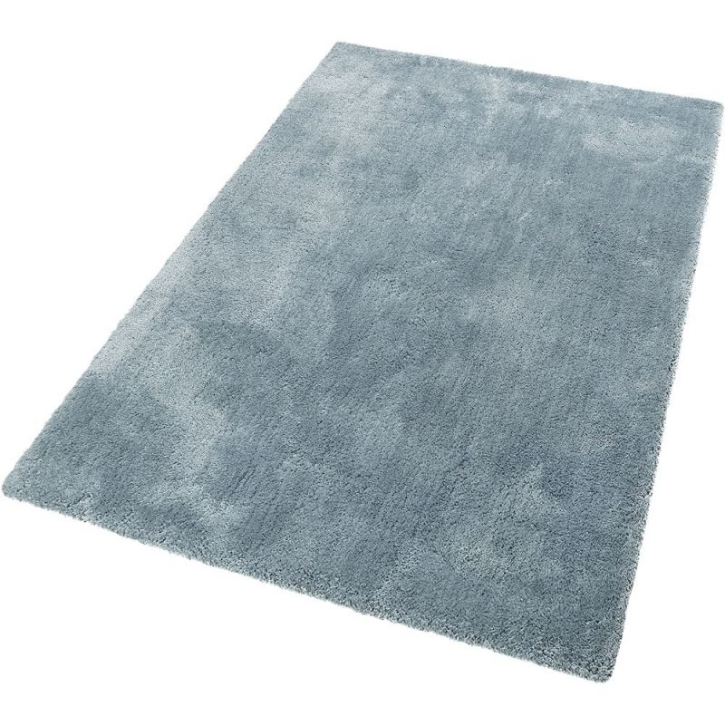 tapis shaggy relaxx gris bleu esprit 70x140. Black Bedroom Furniture Sets. Home Design Ideas