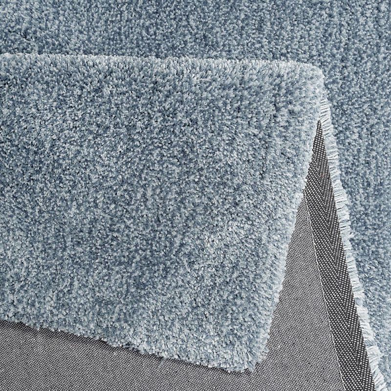 Tapis Gris Bleu Shaggy Relaxx Esprit 160x230