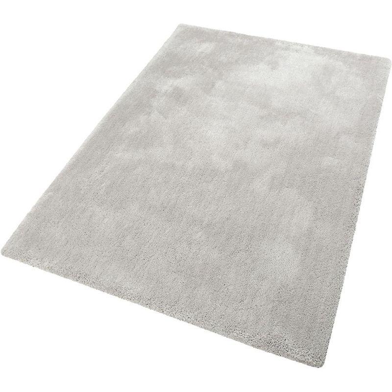 tapis shaggy relaxx gris clair esprit 70x140. Black Bedroom Furniture Sets. Home Design Ideas