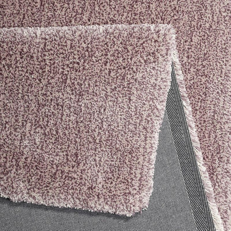 tapis esprit shaggy relaxx rose clair 200x290. Black Bedroom Furniture Sets. Home Design Ideas