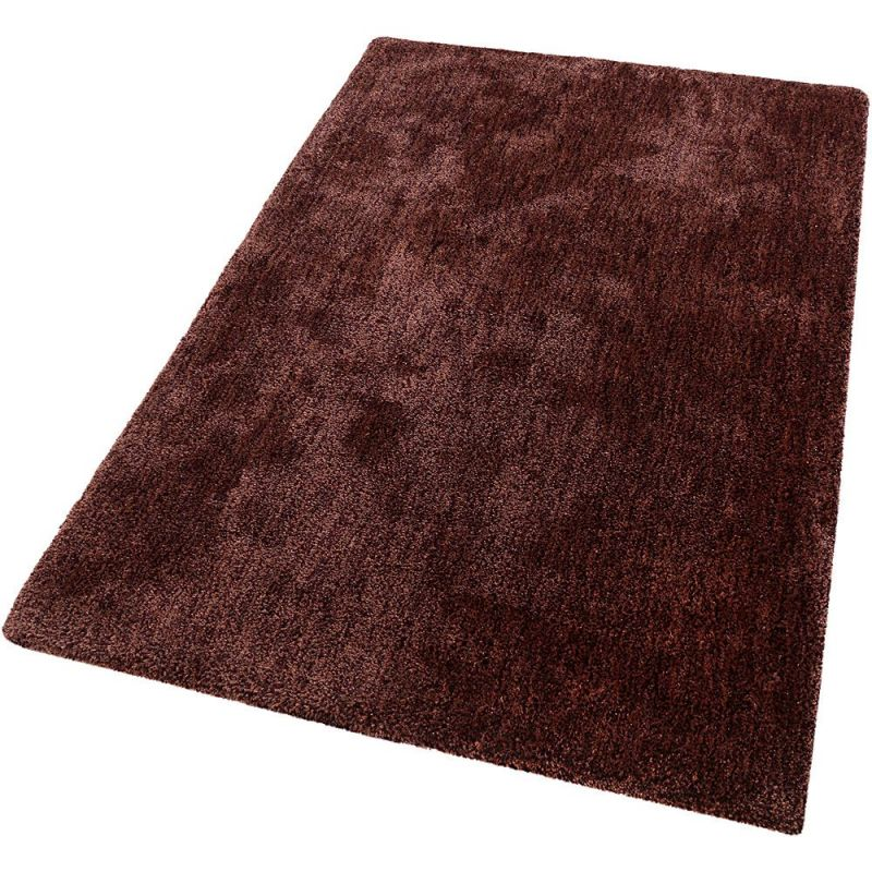 tapis shaggy relaxx rouge burgundy esprit 70x140. Black Bedroom Furniture Sets. Home Design Ideas